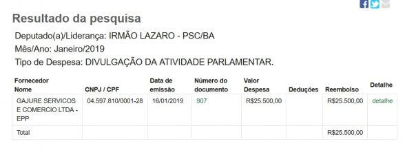 Irmão Lázaro gasta horrores com veiculação de outdoor em Ilhéus e interior da Bahia 2