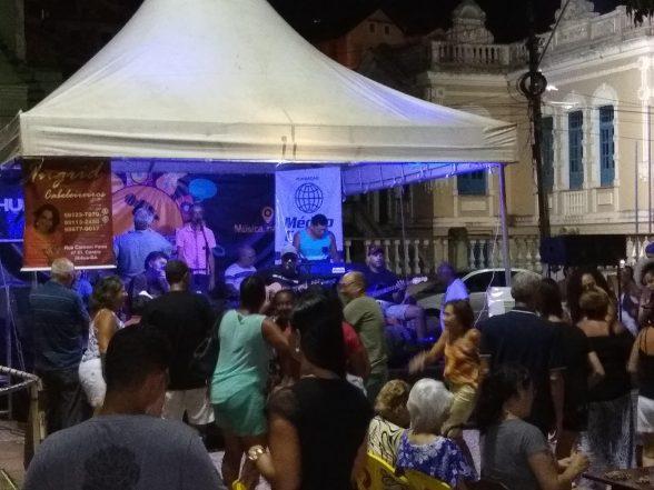 Projeto Música na Praça relembrou os velhos carnavais nesta última quinta (21) 3