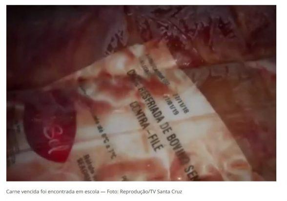 Carnes vencidas são achadas em duas escolas da rede municipal de Itabuna 2
