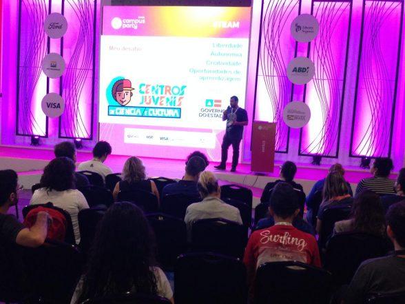 Experiências dos Centros Juvenis são apresentadas na Campus Party Brasil 2019 1