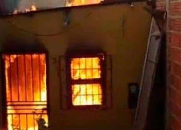 Morador escapa de incêndio pelo quintal dos vizinhos em Itabuna 1
