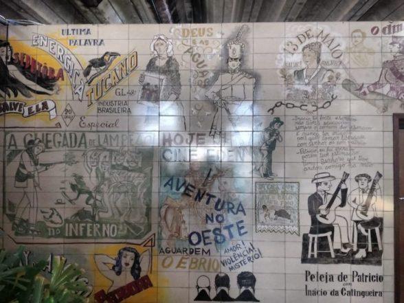 Patrimônio tombado, painel do artista plástico Lênio Braga é restaurado com acompanhamento do Ipac 1