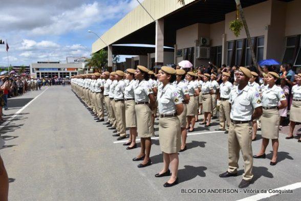 Polícia Militar da Bahia formou hoje (18) 2.117 novos soldados 1
