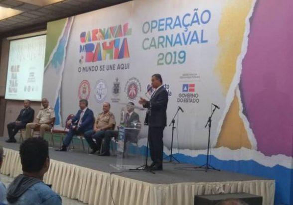 Carnaval 2019: 'Bahia é a bola da vez', diz Rui Costa sobre turismo 2