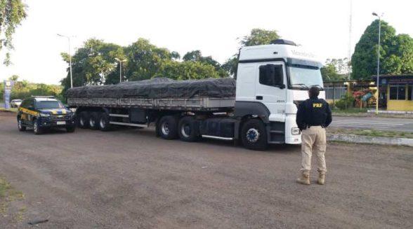Veículo adulterado com 32 toneladas de adubo é apreendido pela PRF em Itabuna 1