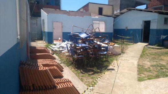 ILHÉUS: COMUNIDADE RECLAMA DE ABANDONO DA ESCOLA MUNICIPAL DO IGUAPE 1