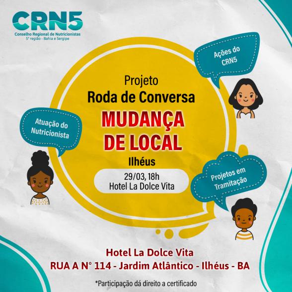 CRN-5 promove 'Roda de Conversa' em Ilhéus 1