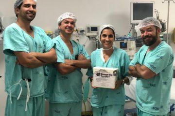 HGE realiza primeiro transplante de pele do Estado 7