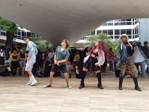 Biblioteca Central vive dia de cultura coreana com o Kpop Meeting Bahia 2019 6