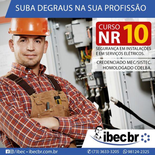 IBEC ABRE INSCRIÇÕES PARA O CURSO DE NR10SEP 1