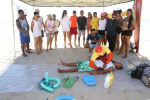 Bombeiros civis de Ilhéus participam do projeto Educar para não afogar 6