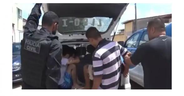 Duas mulheres e dois homens foram presos em Ilhéus durante a operação Aqualtune 1