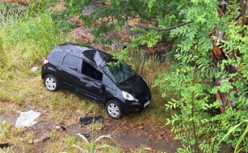 Conquistenses sofrem acidente próximo a Itabuna; carro capotou 1