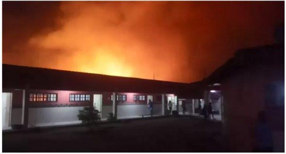 Incêndio destrói vegetação que fica em aldeia indígena de Pau Brasil; Ilhéus registrou ontem (14) incêndio em área indígena 1