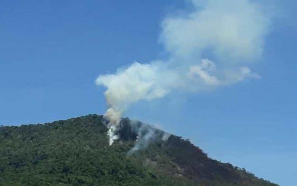 Valença: Incêndio na mata da Serra do Abiá é controlado 1
