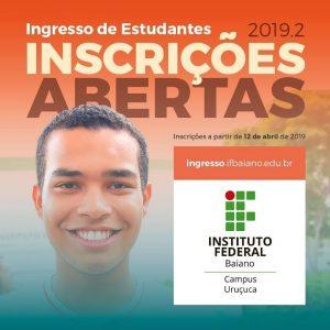 Abertas as inscrições para o Curso Técnico em Agropecuária do IF Baiano campus Uruçuca 1