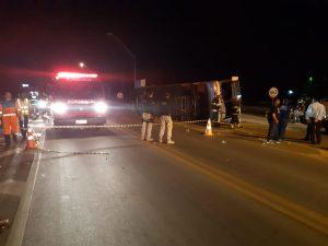 Polícia divulga detalhes de acidente com ônibus da Novo Horizonte que saiu de Ilhéus e tombou; 3 vítimas tiveram lesões 1
