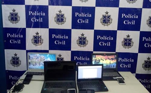 ILHÉUS: Policial Civil apreende material usado para ameaças de ataques em universidades e faculdades 1