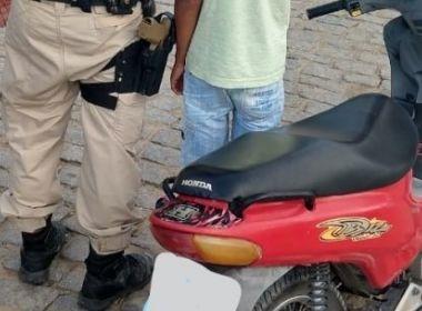 PRF-BA flagra menino de 11 anos a bordo de motoneta na BR-101 em Teixeira de Freitas 1