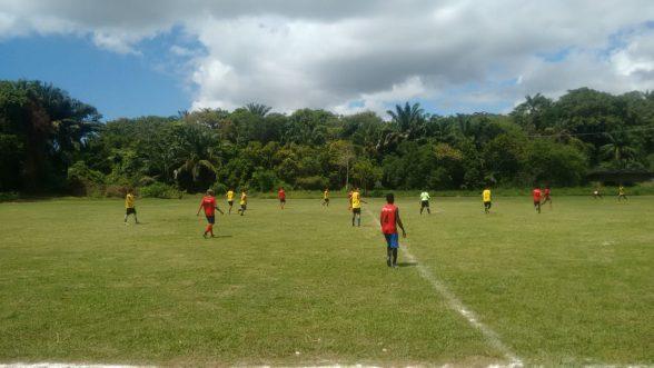 Novo time ilheense realizou seletiva com a presença do Botafogo da Paraíba 2