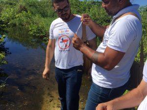 ILHÉUS: Após a repercussão nas redes sociais, SESAU e SESURB agem em foco de mosquito na Av. Soares Lopes 1