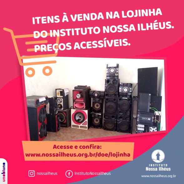 Instituto Nossa Ilhéus põe à venda equipamentos de som apreendidos pela Polícia Ambiental 1