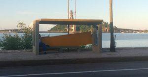 Câmeras do trânsito podem identificar vândalos que danificaram abrigos de ônibus 1