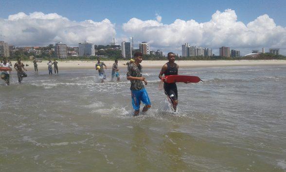 Circuito de surf recebe projeto Educar para não Afogar, neste sábado, 1º em Olivença 1