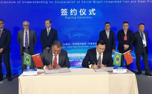 Empresa chinesa vai investir U$ 7 bilhões na construção de parque industrial e revitalização do Porto de Aratu 2
