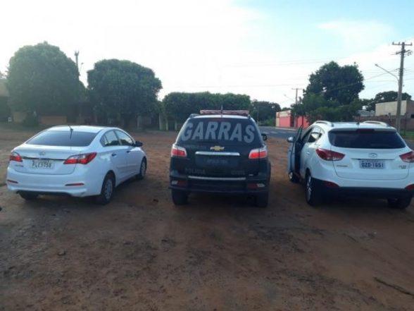 A caminho da fronteira do Paraguai, três são presos com carros roubados na Bahia 1