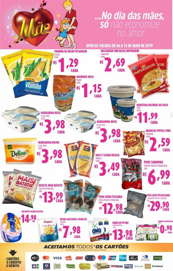 Publicidade do Supermercados Meira 3