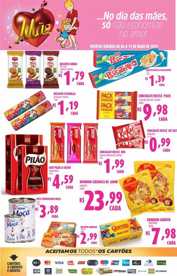 Publicidade do Supermercados Meira 4