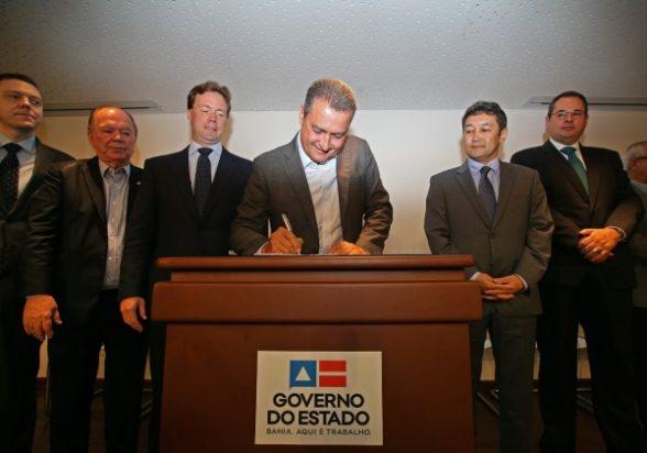 Governo do Estado assina termo de unificação dos terminais privados do Porto Sul 3
