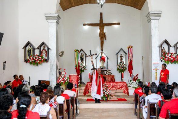Devoção e fé marcam encerramento da  Festa do Divino em Olivença 4