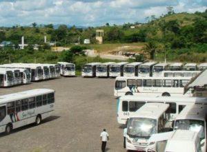 Itabuna: Moradores ficam sem ônibus em greve de rodoviários Itabuna: Moradores ficam sem ônibus em greve de rodoviários 1