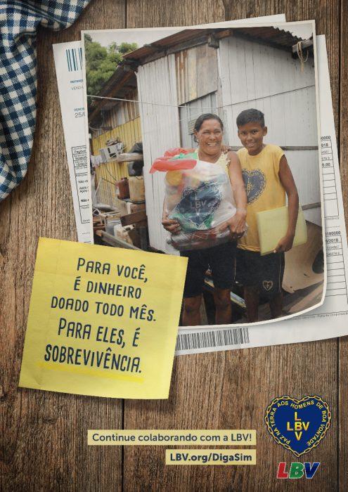 LBV promove ação emergencial em apoio a famílias em situação de vulnerabilidade 2