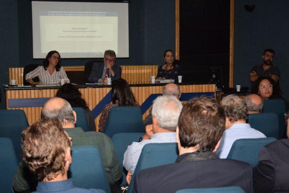 Conselheiros do Conerh discutem sobre Enquadramento e plano de Bacias 1
