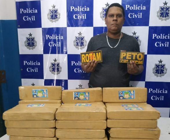 ILHÉUS: HOMEM É PRESO COM GRANDE QUANTIDADES DE DROGAS 7