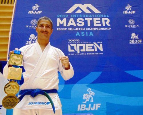 Atleta baiano vence campeonato de Jiu-Jitsu no Japão 1