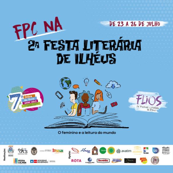 No Festival Literária de Ilhéus, jornalistas da CBN e Globo falam sobre a mulher nos espaços sociais, hoje (23) 4