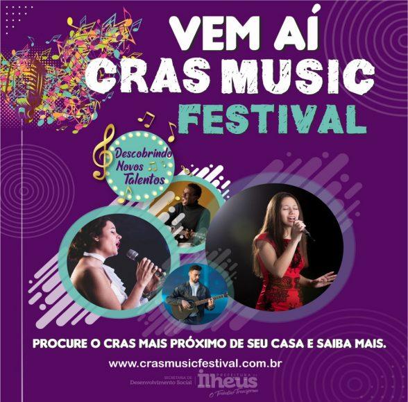ILHÉUS: Secretaria de Desenvolvimento Social abre inscrições para o CRAS Music Festival 1