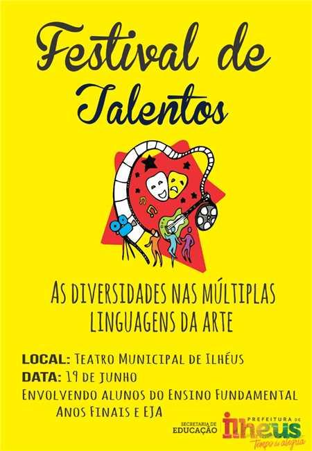 ILHÉUS: Festival de Talentos ensaia as múltiplas linguagens da arte 6