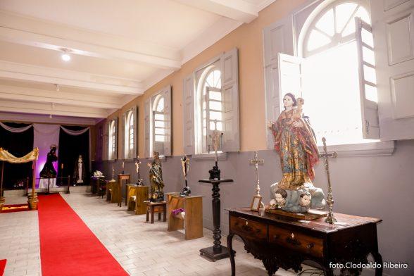Abertura de exposição documenta história da arte sacra em Ilhéus 2
