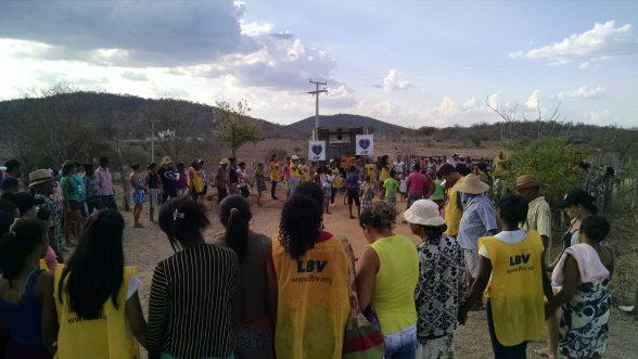 LBV entrega cestas de alimentos a famílias em situação de vulnerabilidade social no sertão São Francisco 1