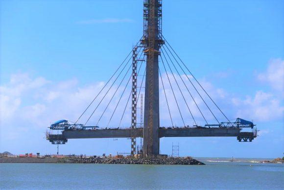 Primeira ponte estaiada da Bahia começa a ganhar forma 1