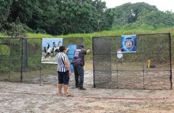 Elite do tiro prático esportivo disputa  Torneio Internacional em Ilhéus 5