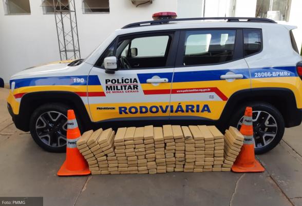Polícia prende drogas em Minas Gerais que seriam entregue em Itabuna 3