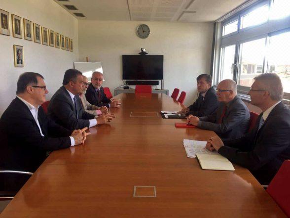 Rui se reuni com embaixador da Alemanha no Brasil e traça parcerias para o Consórcio Nordeste 7