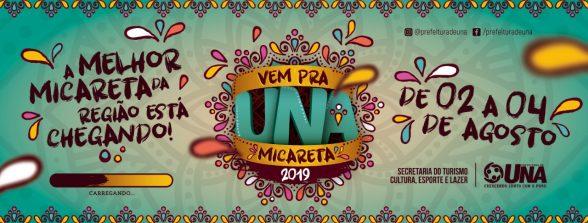 UNA: Tradicional Micareta 2019 comemorando os 95 anos no aniversário da cidade 6