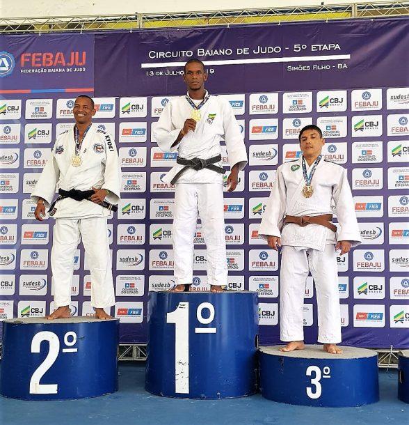 Judoca ilheense Hakson Andrade conquista etapa decisiva do circuito baiano 8